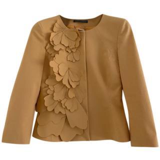 Alberta Ferretti Floral Applique Jacket