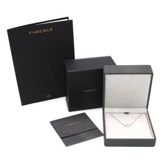 Faberge Imperial Collection 18k White Gold & Diamonds Sasha Necklace