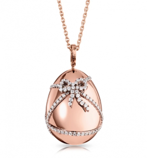 Faberge Heritage collection Gold & Diamond Cadeau Pendant Necklace
