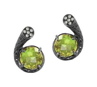 Fei Lui Diamond & Peridot Dawn Earrings