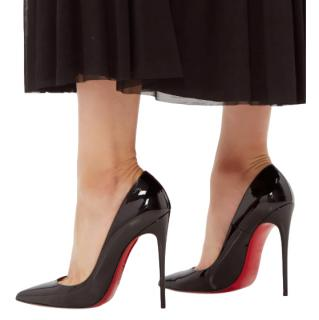 Christian Louboutin Black Patent 120mm Pumps