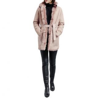 Belstaff Lilac Borrowdale Reversible Coat