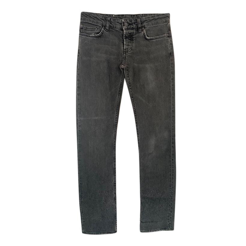 Prada Grey Tapered Leg Jeans