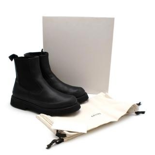 Celine by Phoebe Philo Runway Black Leather Country Ankle Boots