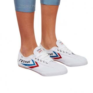 Feiyue Fe Lo Classic Canvas Poppy Trainers