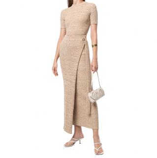 Anna Quan Matilde Wrap Knit Skirt
