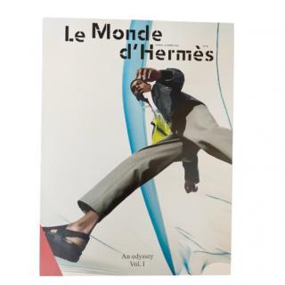 Herme4s La Monde spring/summer collectible magazine