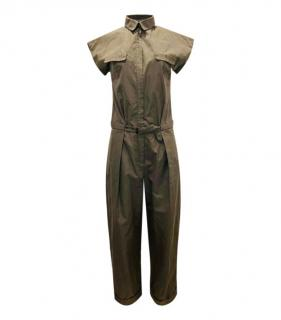 Bottega Veneta cotton and silk blend jumpsuit