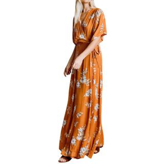 Faithfull The Brand Chelsea Floral Print Bergamo Maxi Dress