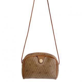 Christian Dior Vintage Honeycomb Print Shoulder Bag