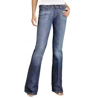 Citizens of Humaity Blue Ingrid Flared Jeans