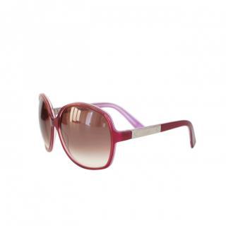 Gucci Purple Classic Square Sunglasses