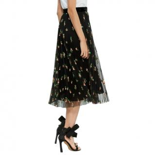 Philosophy di Lorenzo Serafini Floral Pleated Midi Skirt