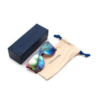Louis Vuitton Blue/Pink Nano Monogram RG0157 Sunglasses