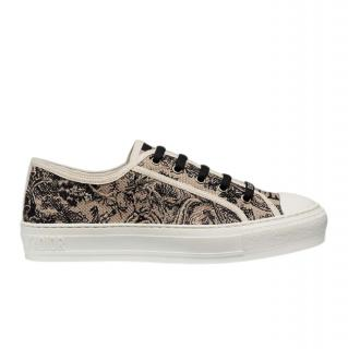 Dior Toile Canvas Low Top Sneakers