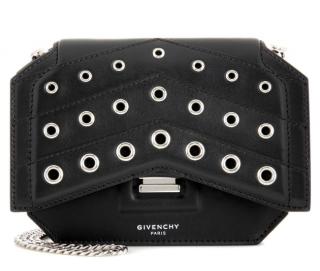Givenchy Bow Cut Eyelet Embellished Crossbody Bag