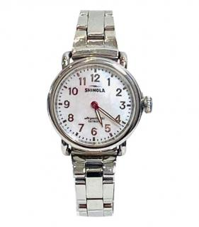 Shinola Vinton Stainless Steel/Mother of Pearl 32mm Watch