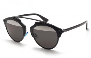 Dior Soreal Black BOYMD Mirrored Sunglasses
