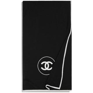 Chanel Cashmere & Silk Bi-Colour Stole