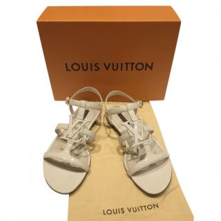 Louis Vuitton paradiso Patent Leather Sandals