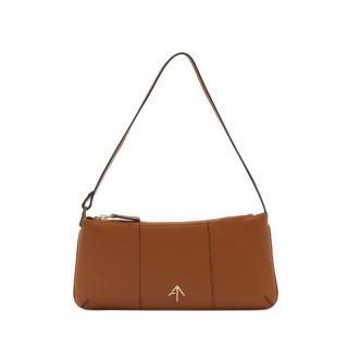 Manu Atelier Tan Pita Shoulder Bag
