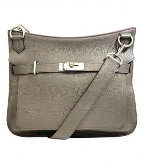 Hermes Elephant Grey Togo leather Jypisere Bag