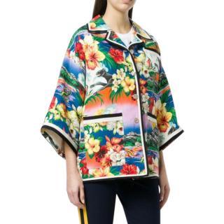 Gucci Hawaiian Print Kimono jacket