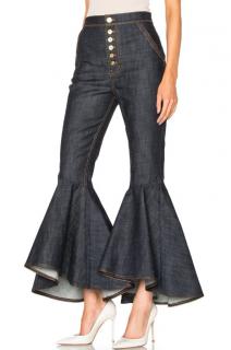 Ellery Flared Leg High Waist Jeans