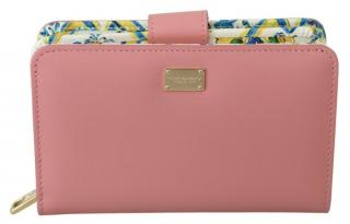 Valentino Pink Leather Bi-Fold Wallet