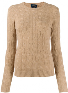 Polo Ralph lauren Cable Knit Wool & Cashmere Jumper