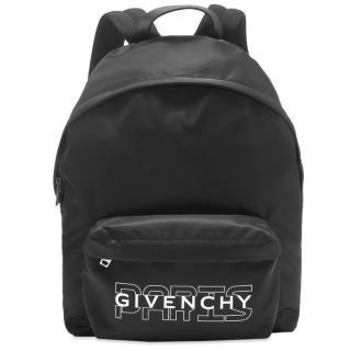 Givenchy Black Nylon Urban Backpack