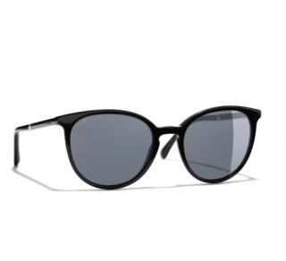 Chanel Black Butterfly 5278 Sunglasses