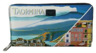 Dolce & Gabbana Taormina Zip-Around Wallet