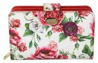 Dolce & Gabbana Floral Bi-Fold Wallet