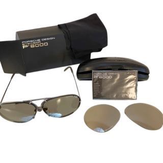 Porsche Design mens Aviator Sunglasses