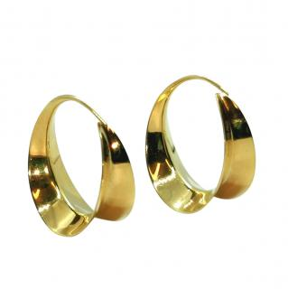 Michael Good 18ct Yellow Gold Hoop Earrings