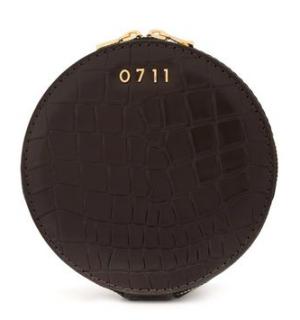 0711 Tbilisi Croc Embossed Evi Cosmetic Bag