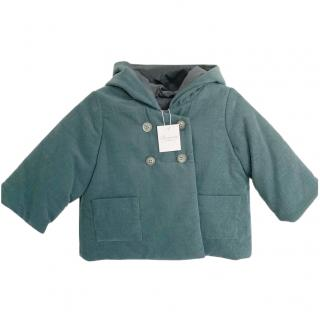 Bonpoint Velvet Kids 12M Double Breasted Coat
