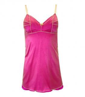 Dolce & Gabbana Pink Silk Blend Cami