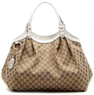 Gucci Women's Sukey Original GG Canvas Tote
