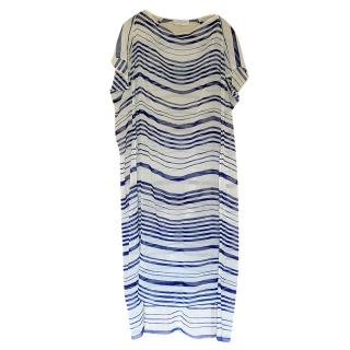 Christian Wijnants Striped Crepe Tunic Dress