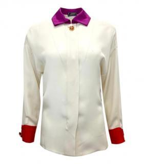 Gianni Versace Silk Vintage Shirt