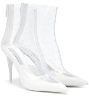 Stella McCartney transparent PVC ankle boots
