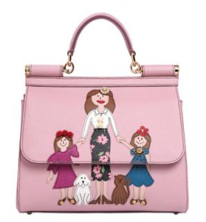 Dolce & Gabbana Viva La Mamma Dauphine Calfskin Sicily Bag