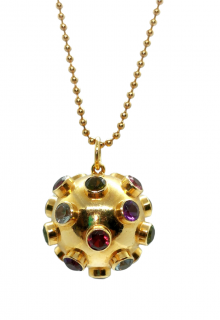 H Stern Embellished Sputnik Pendant Necklace