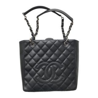 Chanel Black Caviar Calfskin PST