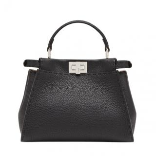 Fendi Black Leather Peekaboo Bag