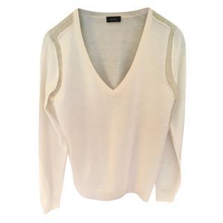 Joseph Bi-Colour Cashmere Sweater