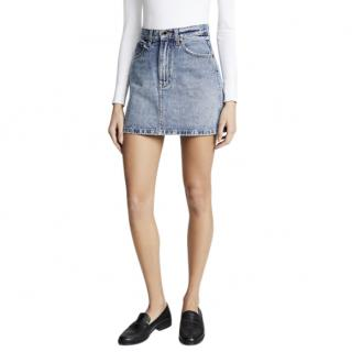Khaite Dolly Denim Mini Skirt