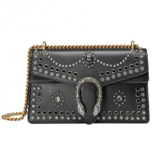 Gucci Black Small Studded Dionysus Bag